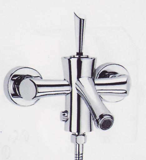 A7878-3 смесител вана + аксесоари