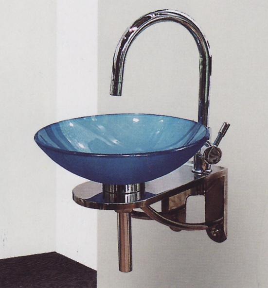 Стъклена мивка BATE 1 - 400/490 мм