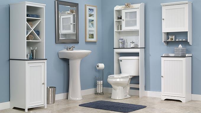 Мебели за баня - направете банята си уютна