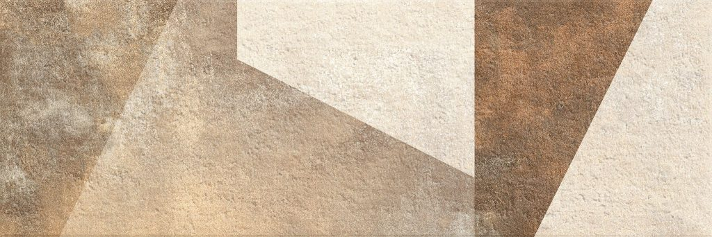 Матиран релефен декор от Керамик Маркет